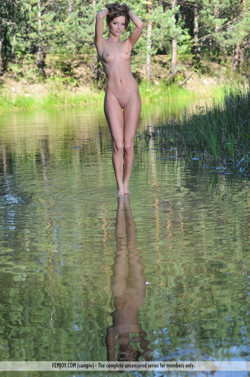 skinny dip sex nude