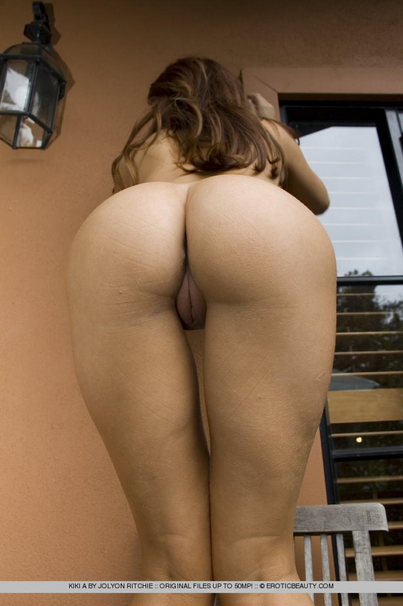 Simply naked girl perfect ass never impossible