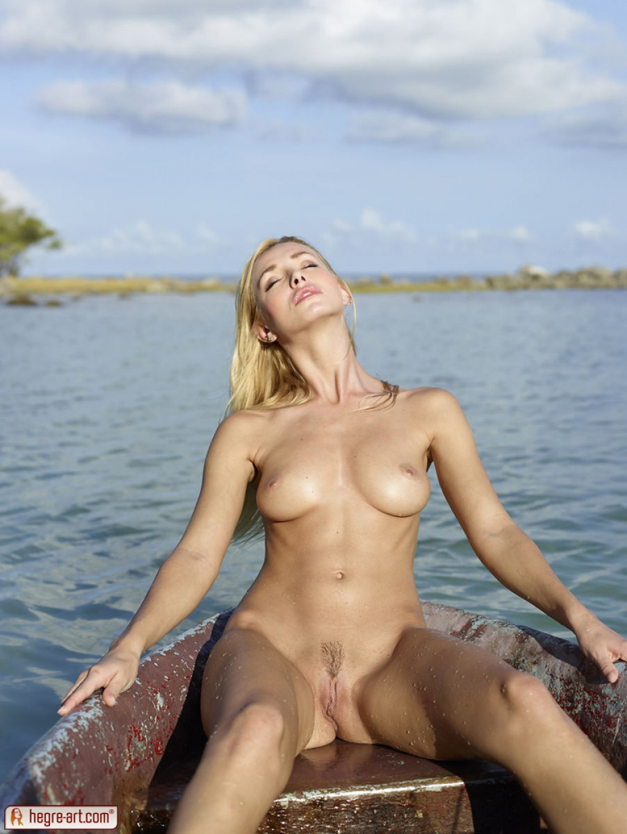 Will Nude blondes on boats for