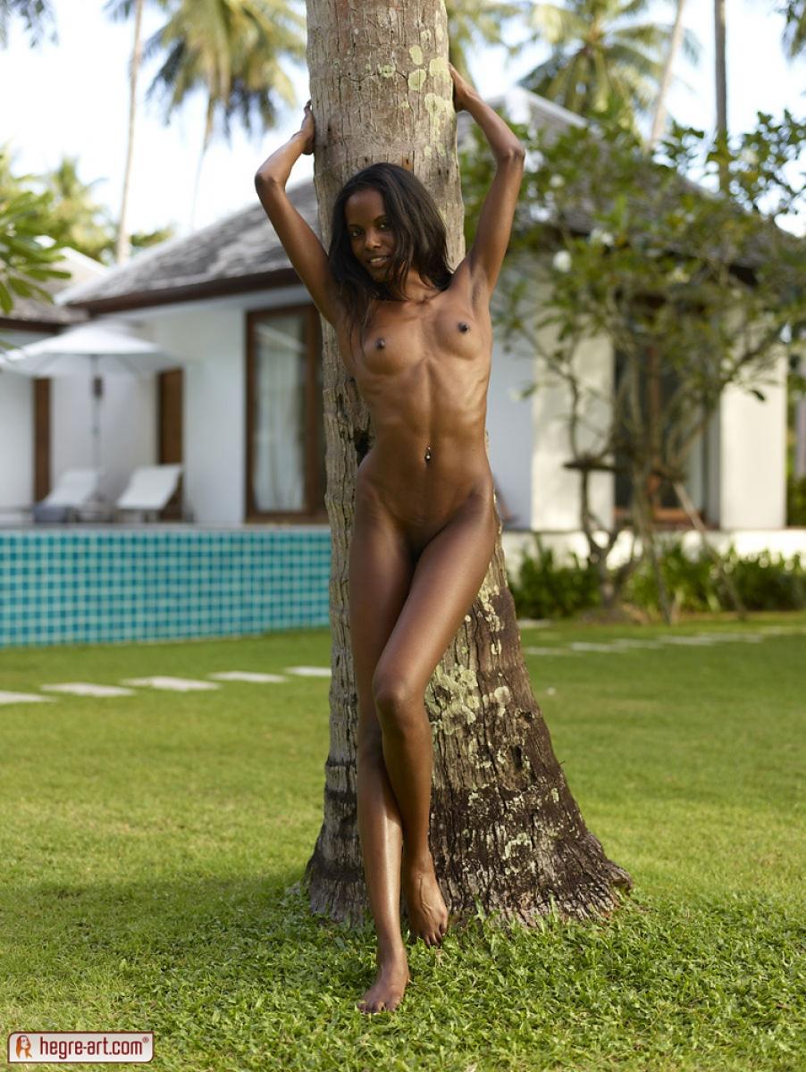 Негритянки голые стройные