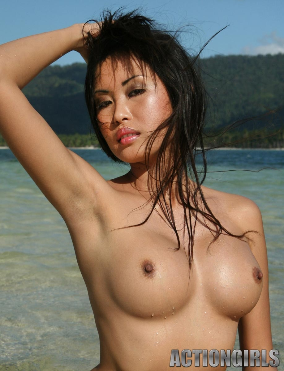 Information Kim naked on beach about