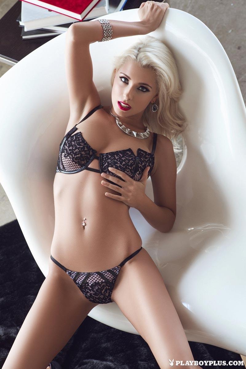 blonde bombshell alissa arden