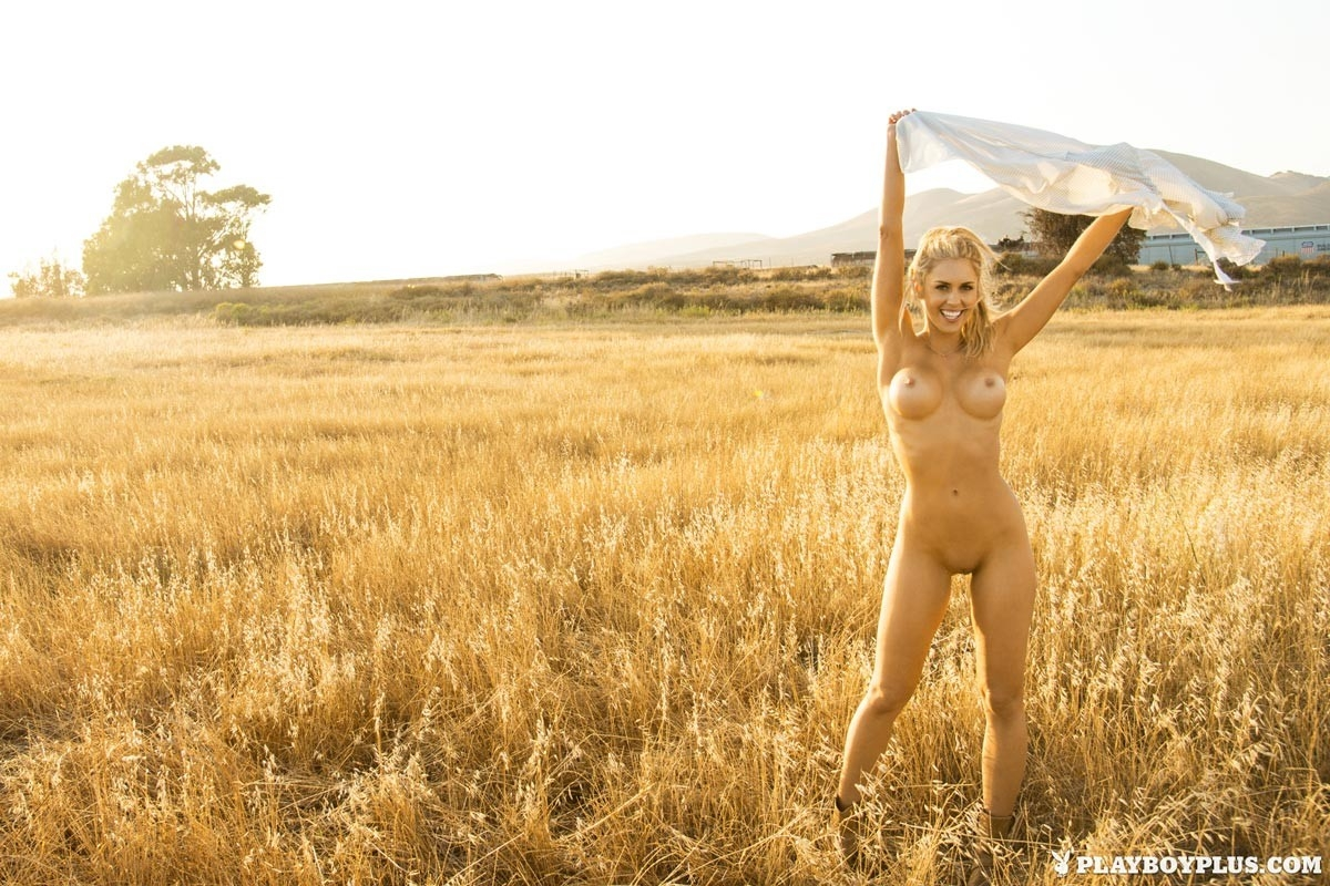 Sex in a wheat field