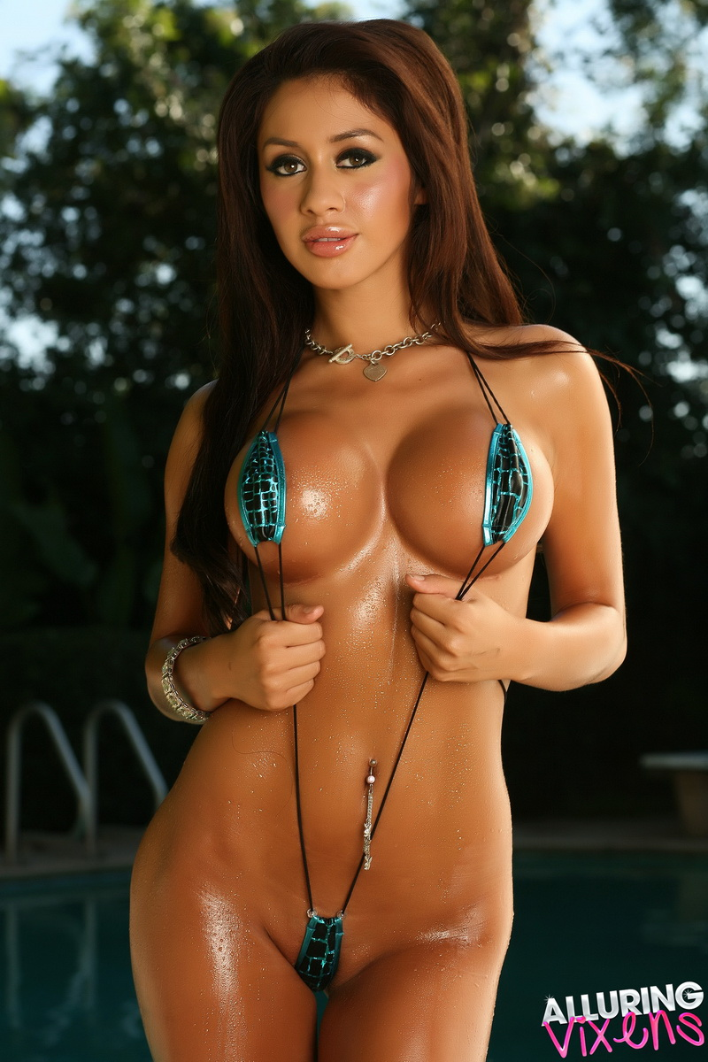 hot bikini models with big boobs