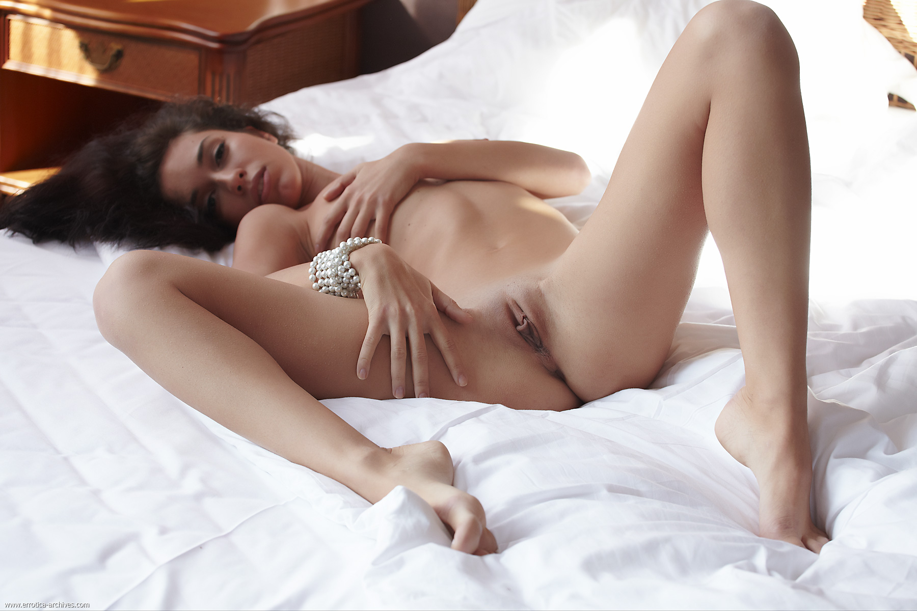 Teen partly shaved pussy