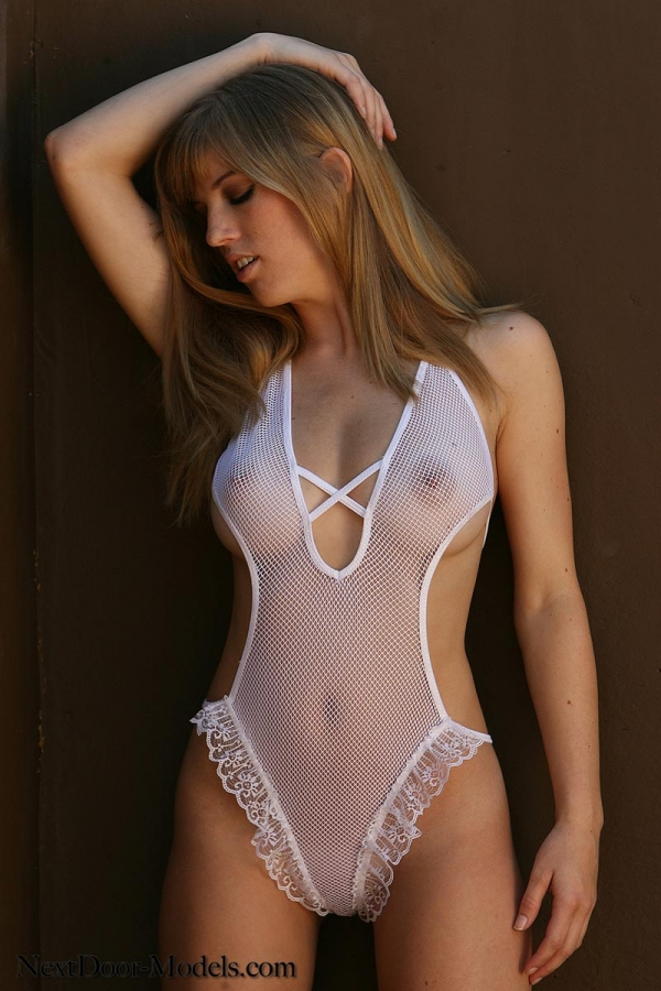 model nude lingerie Girl
