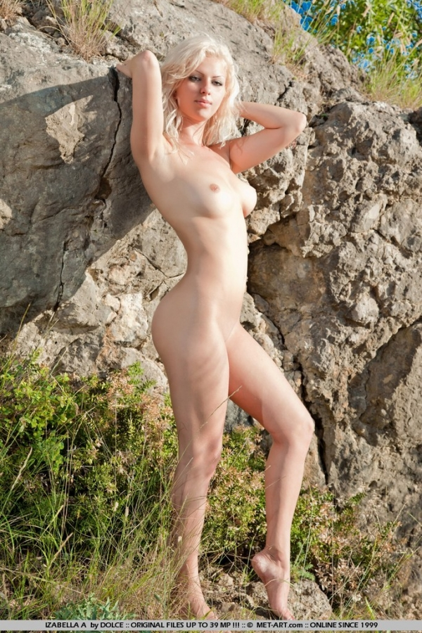 Join. happens. busty nudist posing naked rocks