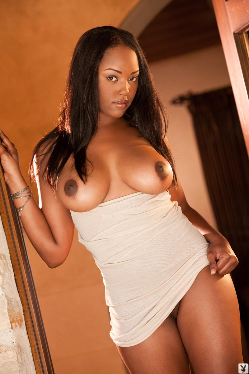 Hot ebony nude models