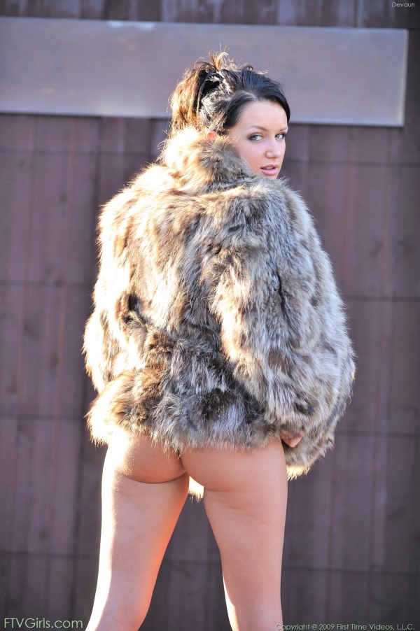 Rather valuable in nude coat woman fur absolutely not agree