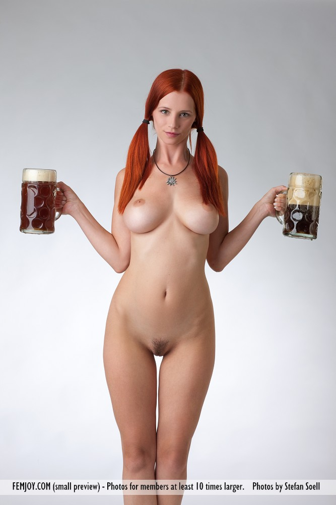 Share your Sexy naked girl beer model remarkable, very