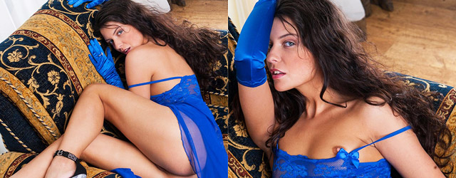 Babe in Blue