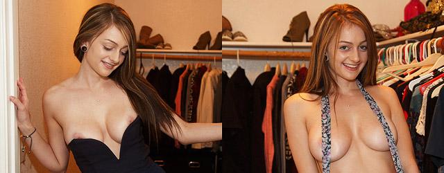 Dahlia Polk in the Closet