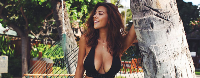 Devin Brugman at the Beach