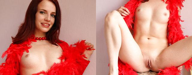 Exotic Redhead Leila Smith