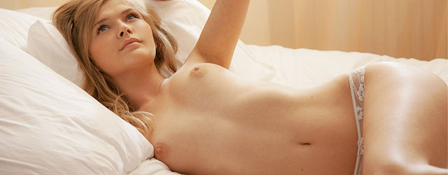 Teens on beds nude can