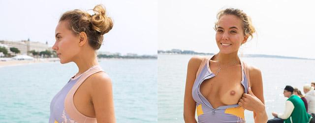 Katya Tan Blonde