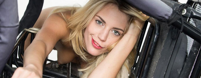 Leggy Blondie Blake