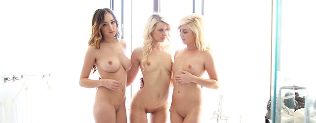 Think, that nude girls threesome agree