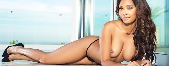 Phoenix Skye Nude On The Balcony