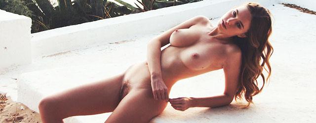 large topless women on beach