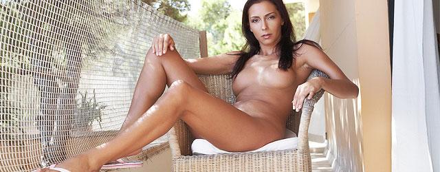 Tanned Girl In Bikini