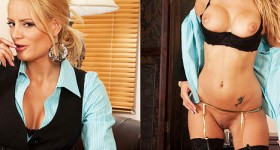 office-blonde-chloe-conrad-in-black-stockings