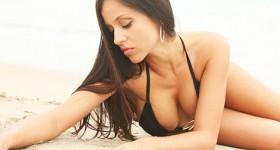 janessa-brazil-lounging-on-a-beach