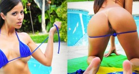 janessa-brazil-takes-off-her-bikini-outside