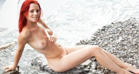 piper-fawn-naked-by-a-rushing-waterfall
