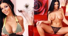 busty-brunette-rebecca-teasing-in-heels