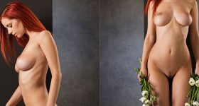 piper-fawn-posing-naked-with-flowers