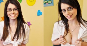 busty-slim-brunette-schoolgirl-teasing