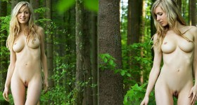nude-blonde-beauty-corinna-poses-in-a-deep-forest