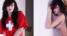 autumn-riley-in-a-red-shirt-and-panties