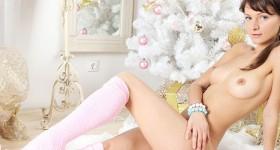 busty-teen-in-pink-winter-socks-and-panties