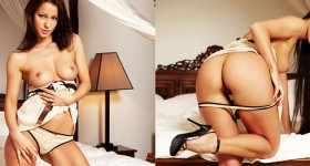 melissa-shows-hot-ass-in-the-bedroom