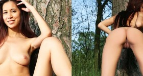 chrisy-charming-naked-under-a-tree