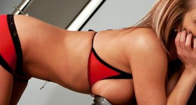 nikki-sims-red-lingerie-and-heels