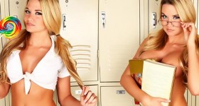 blonde-in-schoolgirl-uniform