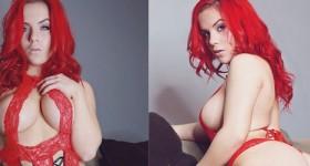 harley-in-red-lingerie