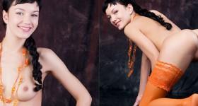 hottie-in-sexy-orange-stockings