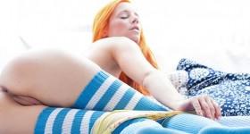 ariel-in-blue-stockings