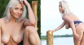 outdoor-busty-blonde