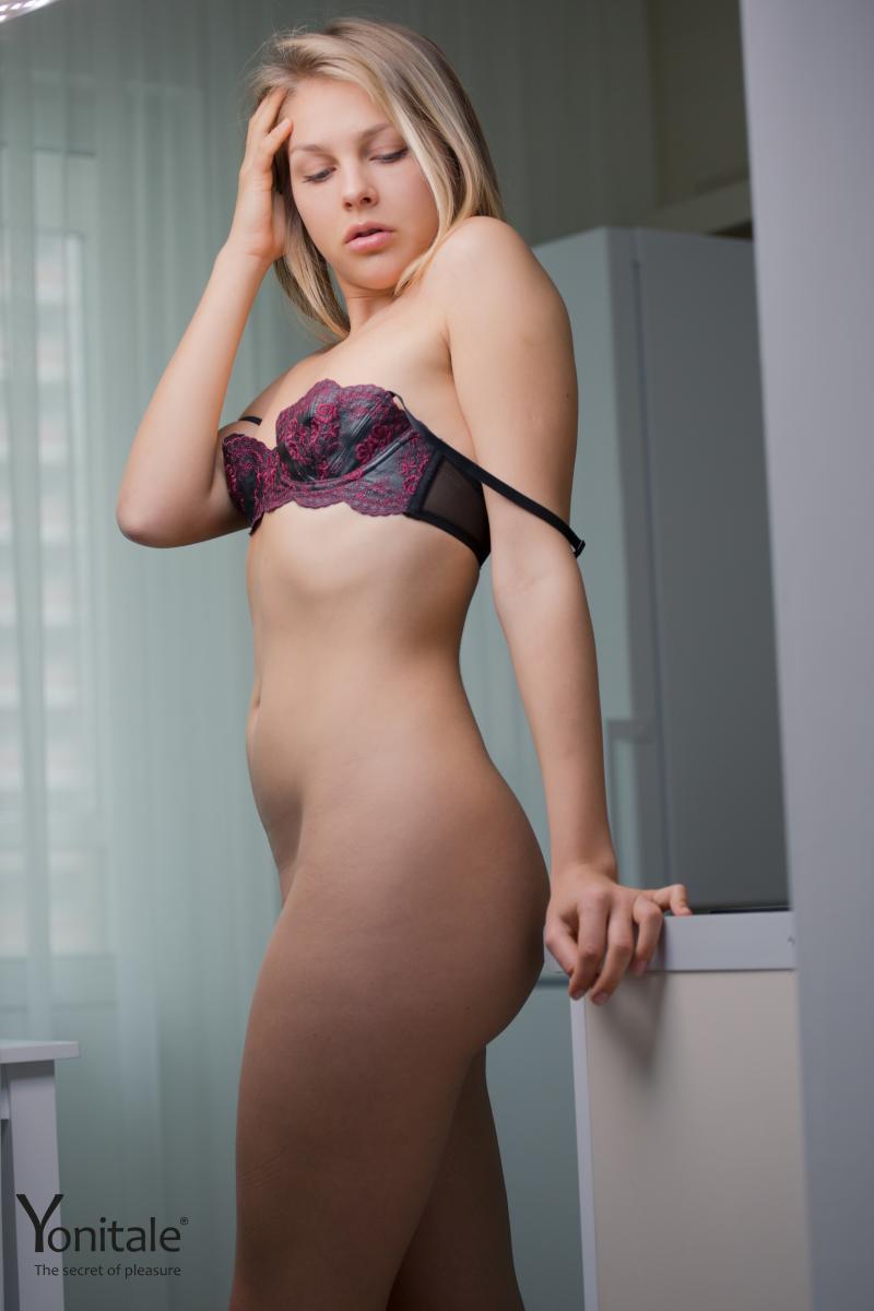 Umbrella girl sexy naked