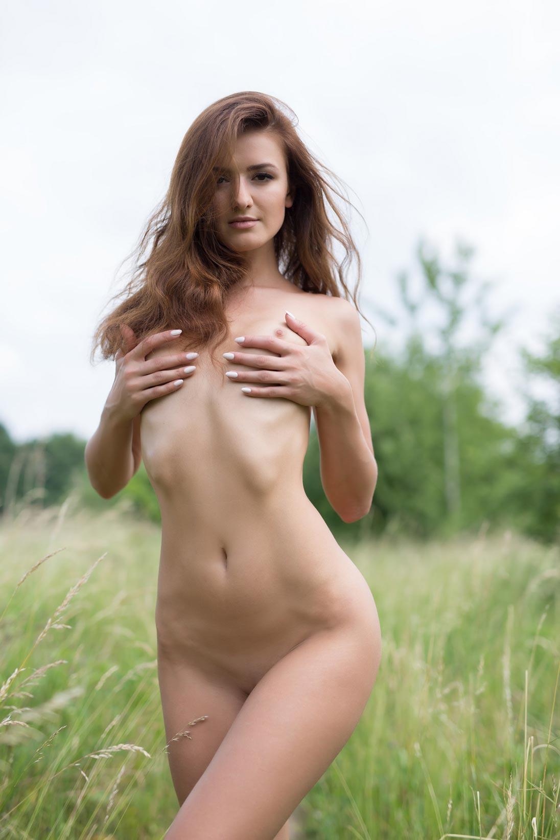 Naked Babes Outside