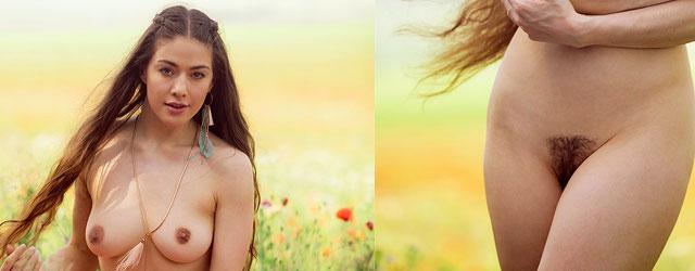 Joy Draiki Nude Outside