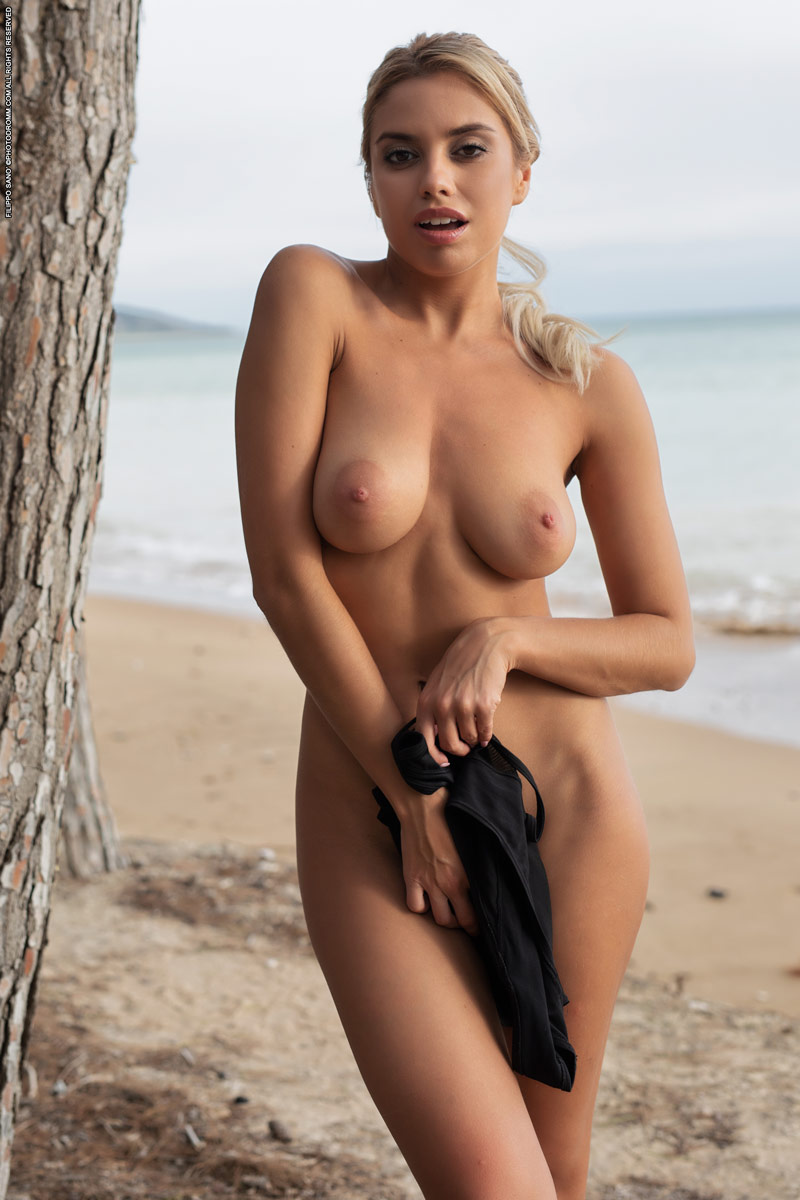 Nudes at the beach