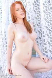 Busty Fit Redhead