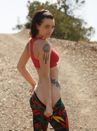 Kai Marley in Tights