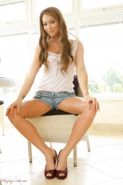 Natalia in Shorts